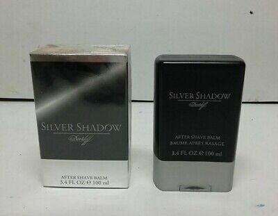 Davidoff Silver Shadow After Shave Balsamo 100 ml New & Rare