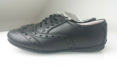 Girls Next Leather Brogue School Shoes. BNWT Size 10 Infant