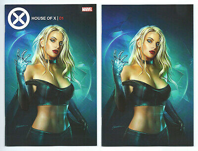 House Of X 1 Shannon Maer Trade Dress and Virgin Variant Set Limited to 600