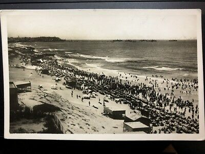 Real Photo - Tel Aviv, On The Seaside (Palphot No. 162) 1935.