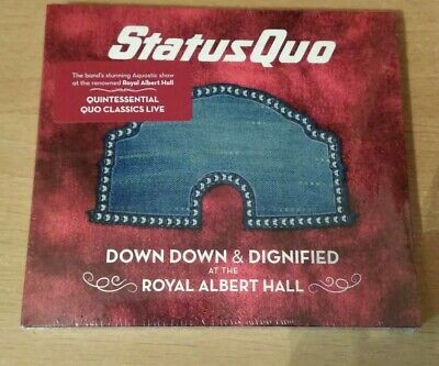 Status Quo - Down Down & Dignified at The Royal Albert Hall CD NEW & SEALED