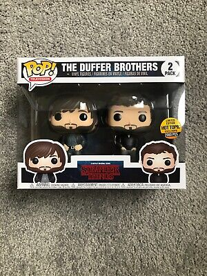 Funko Pop! Stranger Things Duffer Brothers Hot Topic Exclusive