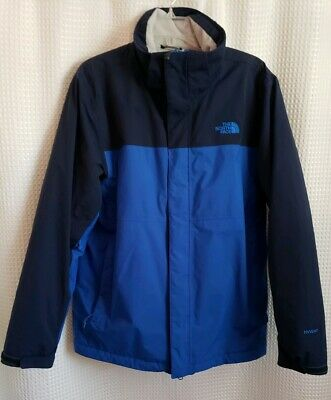 The North Face Womens Black Windbreaker Hyvent Jacket Size S