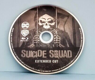 Suicide Squad Blu-Ray Disc Only