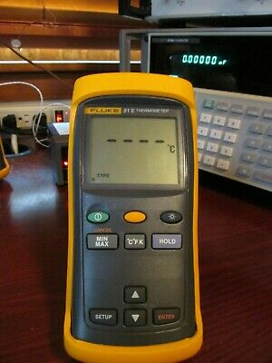 Fluke 51 II Thermometer **PASSES Fluke Performance Verification** 51-2
