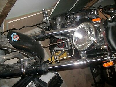 HARLEY 41MM WIDEGLIDE front end forks custom billet trees