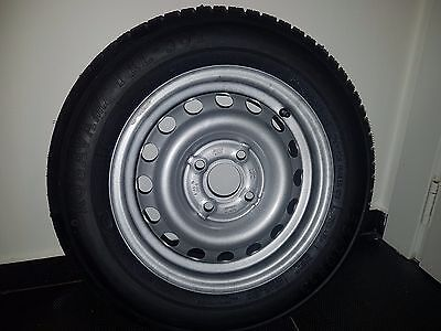 Trailer Wheel & Tyre 155/70 R13 4 Stud 100Mm Pcd 57Mm Centre - Brenderup