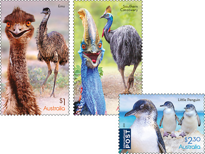 MUH Flightless Birds Australia 2019 Australian Sheet Stamps