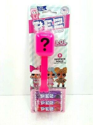 NOC LOL Surprise Dolls Candy PEZ Mystery Dispensers Stocking Stuffer