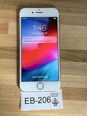 Apple iPhone 7 - 128GB - Rose Gold (T-Mobile) A1778 (GSM) READ 206