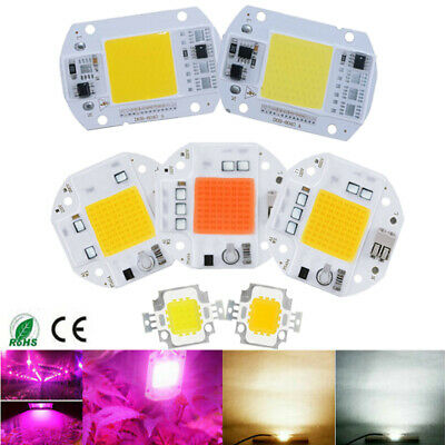 100W Full Spectrum LED COB Chip Grow Light Plant Growing Lamp 70W 50W 110V 220V