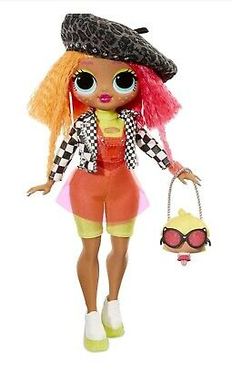 LOL Surprise OMG Neonlicious Fashion Doll With 20 Surprises In Hand AUTHENTIC