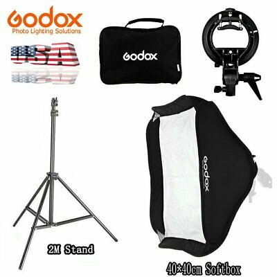 Godox S-type Bowens Mount Softbox Light Stand For AD200 V860II Flash Speedlite