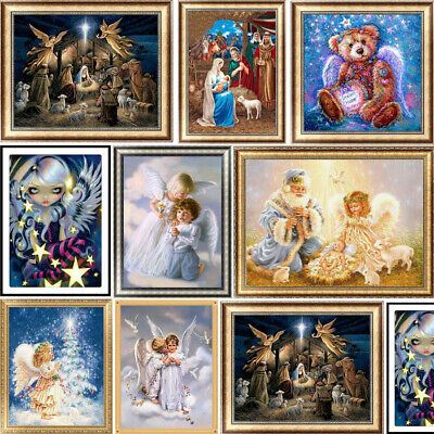 Christmas Angel 5D Diamond Painting Embroidery DIY Cross Stitch Kits Islamism
