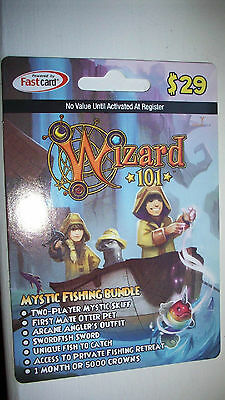 NEW WIZARD 101 EMPYREAN BUNDLE Game Card Crowns Puffy