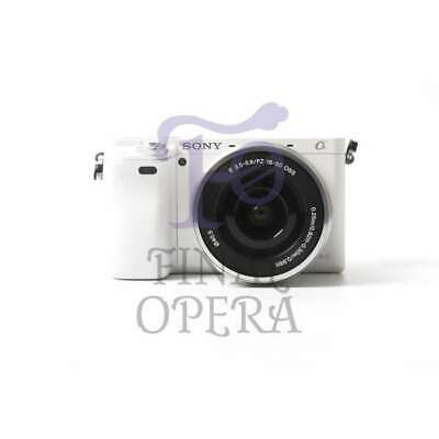 Autentico Sony Alpha A6000 Mirrorless Digital Camera with 16-50mm Lens (White)