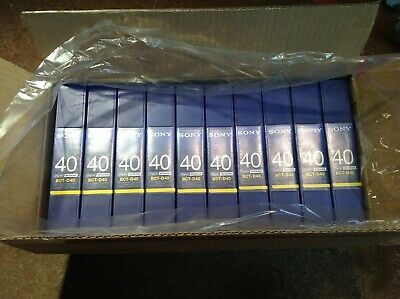 [C] Lot of 10 Sony  BETACAM BCT-D40 Digital Video Cassette Tapes Brand NEW