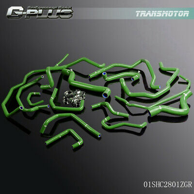 silicone water//coolant//radiator hose for Renault 5//R5 GT turbo Phase 2 88-91 BLK