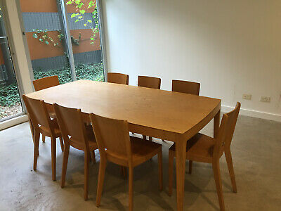 MAP Chris Connell designed Dining table and 8 chairs