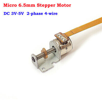 2-phase 4-wire Micro Mini 6mm stepper motor linear screw Rod slider block nut