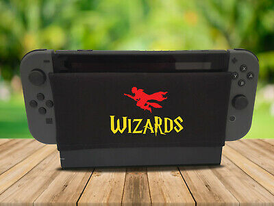 Wizards Magic - Nintendo Switch Dock Sock Cover Retro Gaming Screen Handmade