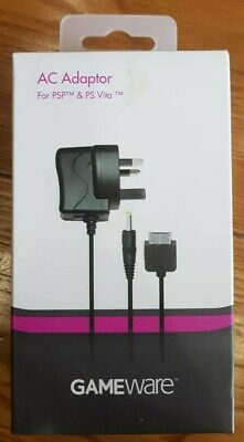 Sony PSP & PS VITA AC Adapter UK Wall Plug Charger Power Supply **BRAND NEW**
