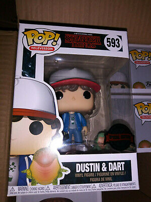 Funko POP! Stranger Things Dustin & Dart (Hot Topic exclusive)