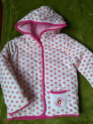 BNWOT girls reversible padded Spotted cow jacket. 3-4 years    3/9