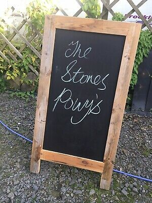 A Board Pavement Display Frame Stand Blackboard Chalk - Traditional Chalkboard