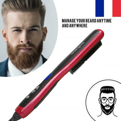 Homme Peigne Lisseur Barbe barbe Cheveux Hairstyle Beauté Masculin FR