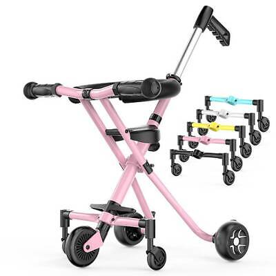Baby Infant Stroller Folding Auxiliary Wheel Thickened Anti-rollover Detachable