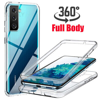 360 Full Protect Hybrid Shockproof Silicone Front & Back Mobile Phone Case Cover