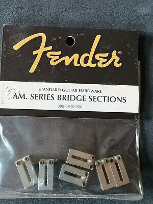 FENDER USA Stratocaster American Series Bridge Saddles  # 099-0840-000
