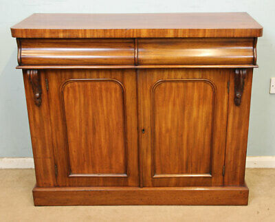 Antique Victorian Mahogany Chiffonier Sideboard Base