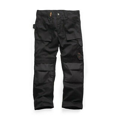 Scruffs Worker Plus Trousers Non-Holster Black Trade (Various Sizes)