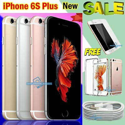 16 32 64 Unlocked Apple iPhone 6s Plus Sim Free New Smartphone All Colours UK