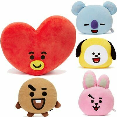 Cute Bangtan Boys BTS bt21 Plush Pillow Toy TATA VAN COOKY CHIMMY SHOOKY KOYA