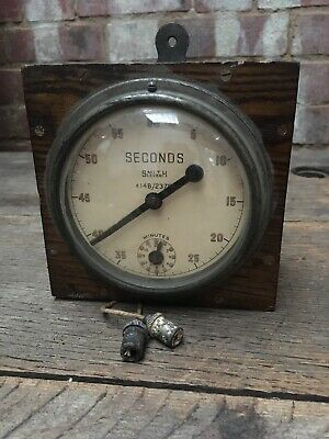 RAF Darkroom Timer Smith Lever Seconds Model 14B/2375 WW2 WWII Broad Arrow Works