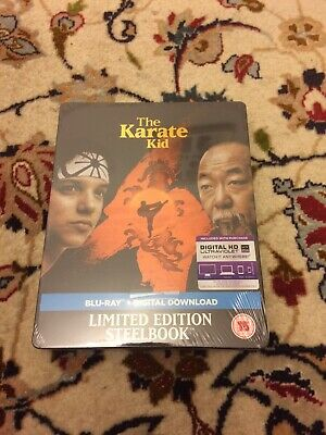 The Karate Kid 1984 Limited Edition Steelbook Blu-Ray (Brand New and Sealed