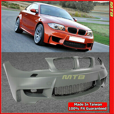 Front Bumper 1M Style Fog Light Covers For BMW 1 Series 08-13 E82 E88 128 135