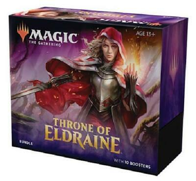 Throne of Eldraine Bundle Box - Magic the Gathering MTG - 10 Booster Packs