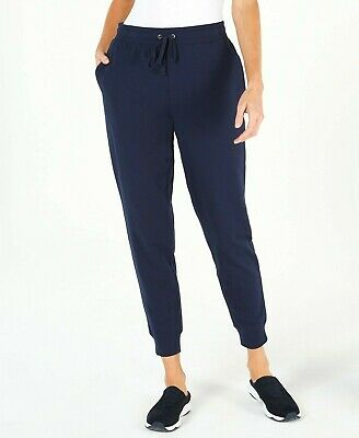 Karen Scott WOMEN'S Petite Jogger Pants INTREPID BLUE