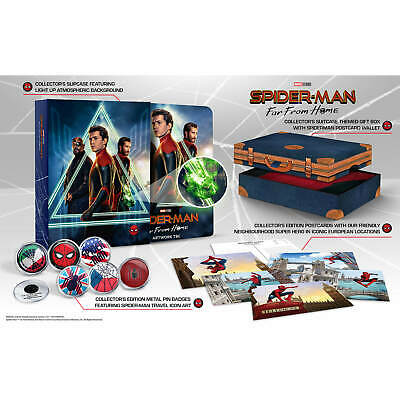Spider-Man Far from Home (4K UHD + Blu-ray Steelbook) ZAVVI COLLECTOR -NEW - PRE