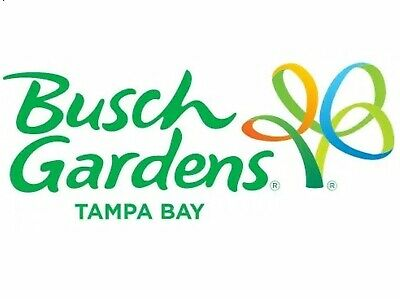 Busch Gardens Theme Park Florida Single Day Ticket Valid Until 26/8/20