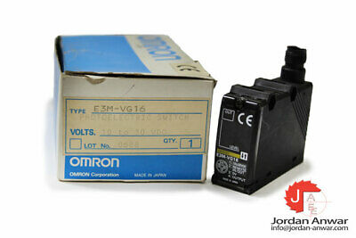 Omron E3M-Vg16 Color Mark Sensor