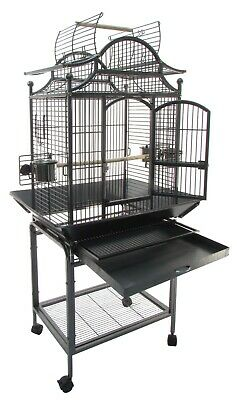 """Victorian Style Parrot Bird Cage 61""""x 29.5""""x 23.75"""""""