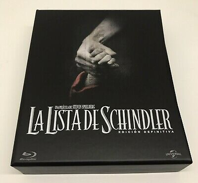 Schindler's List • Bluray • Ed. Spagnola AUDIO ITA • No Steelbook