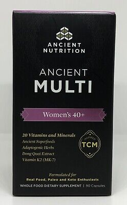 Dr. Axe - Ancient Nutrition - Ancient Multi - Women's 40+ 90 Count
