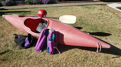 NECKY MANITOU 13 kayak orange color with composite 230