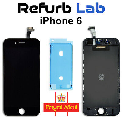 Genuine Apple iPhone 6 Original LCD Display + Touch Screen, Black, 100% Grade A